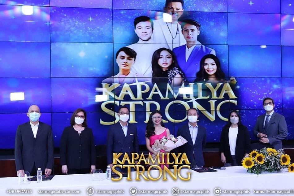 Kapamilya Strong: MayWard, Gary V, Arjo, Donny, Francine renew contract with ABS-CBN 4