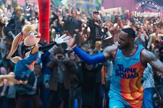 LOOK: 'Space Jam 2' promo photos show LeBron with Looney Tunes squad