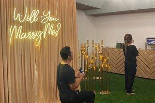 'Grateful you said yes': Derek still in cloud nine after engagement with Ellen Adarna
