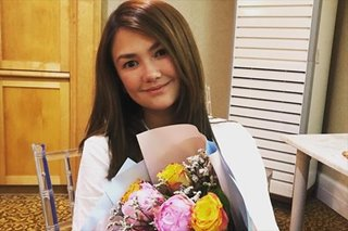 Angelica Panganiban firm on decision to 'retire' from teleseryes