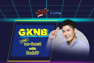 'GAME KNB?' maging co-host ni Robi Domingo?