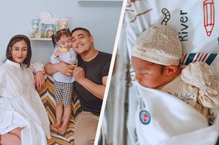 Ex 'PBB' housemates Gee-Ann Abrahan, Mickey Perz welcome second child