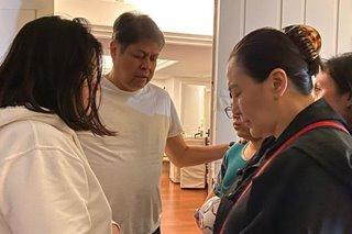 Kiko Pangilinan asked: 'Will Sharon stay in US for good?'
