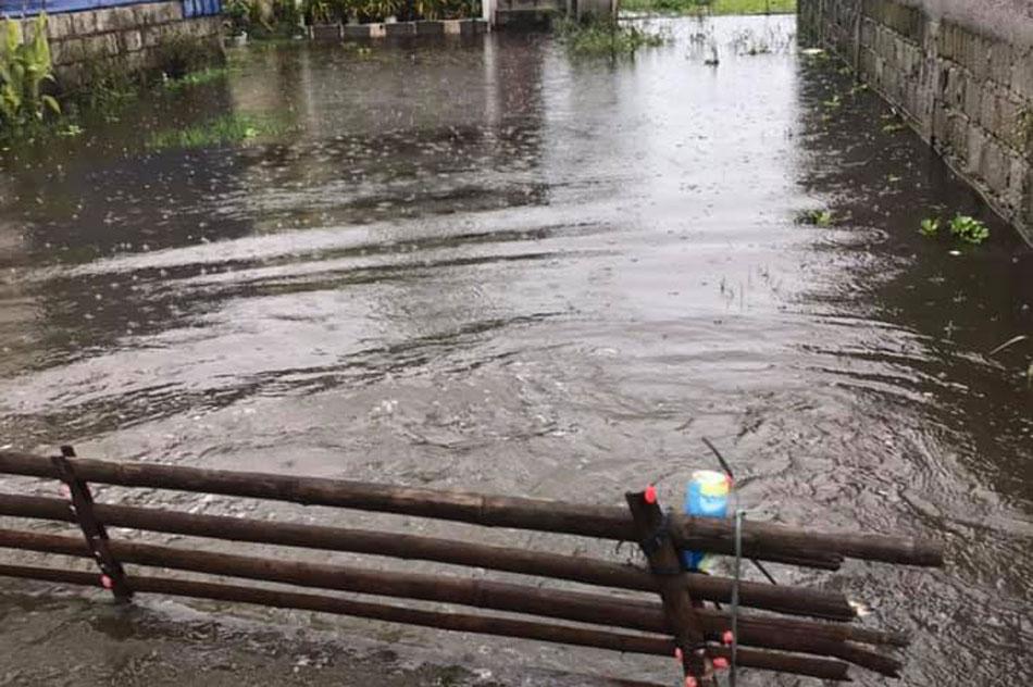 Higit 20 barangay sa Pampanga nalubog sa baha dahil sa malakas na ulan 1