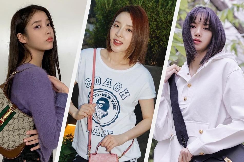 IU, Sandara Park and Lisa are some of the richest female K-pop stars in Korea. Photos: Instagram/@dlwlrma, @daraxxi, @skuukzky