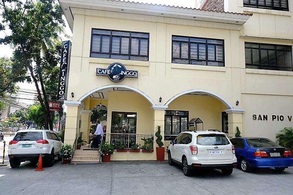 Café Inggo is located inside the Santo Domingo Church compound. Jeeves de Veyra