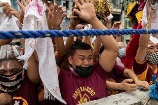 Faith, Feast of Black Nazarene draw multitudes despite pandemic