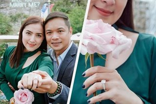 A closer look at Ara Mina's engagement ring