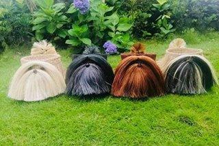 TINGNAN: Dog planter basket gawa sa abaca pantawid sa pandemya sa Albay