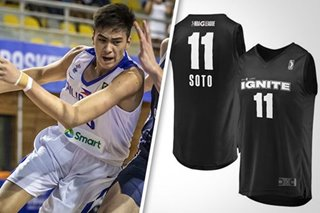 LOOK: G League online store puts out Kai 'Soto' jersey
