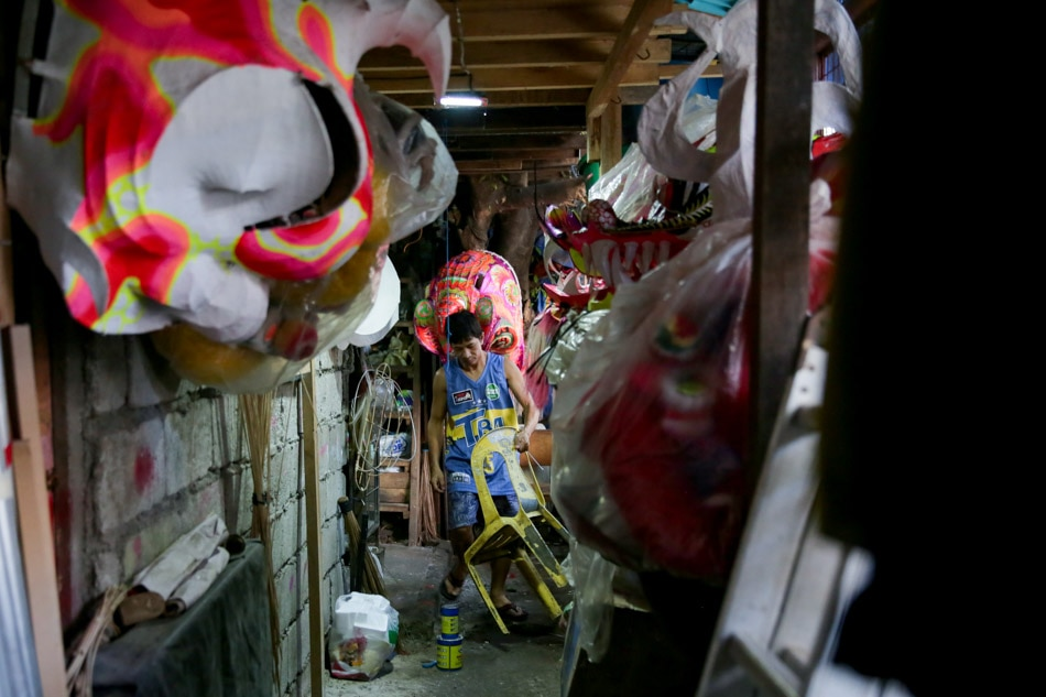 Binondo dragon dancers welcome Lunar New Year minus the bang 2