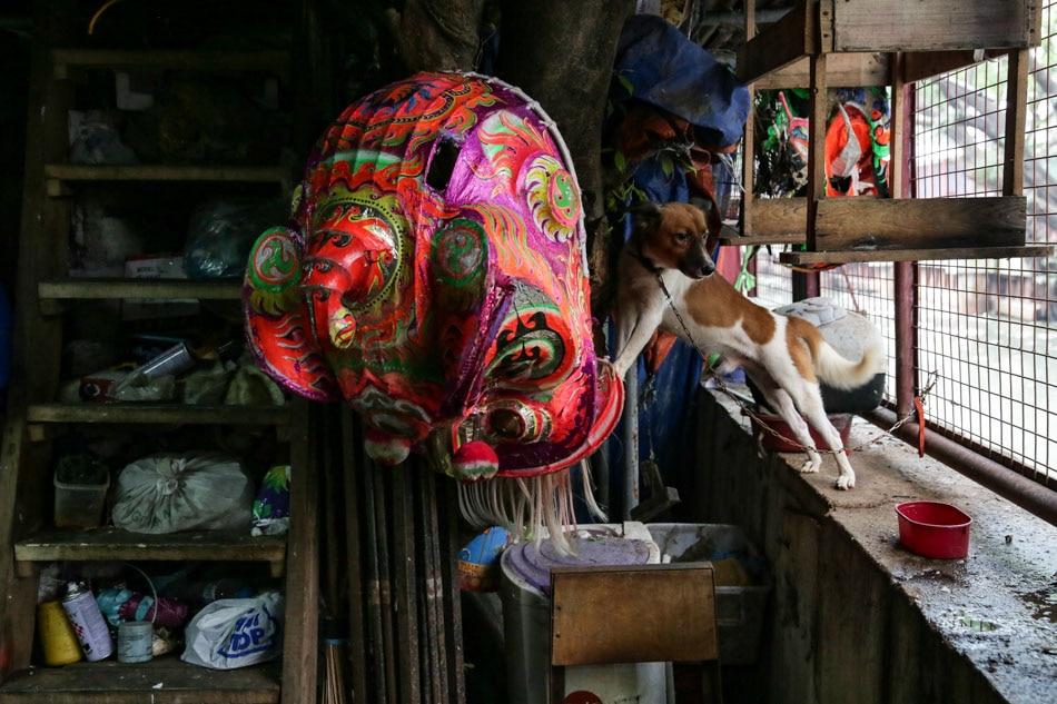Binondo dragon dancers welcome Lunar New Year minus the bang 6
