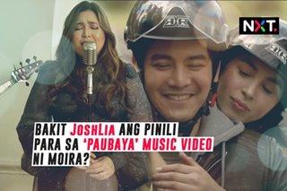 Bakit JoshLia ang pinili para sa 'Paubaya' music video ni Moira?
