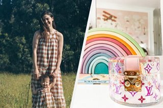 Louis Vuitton gives fancy jewelry box to Anne Curtis' daughter Dahlia