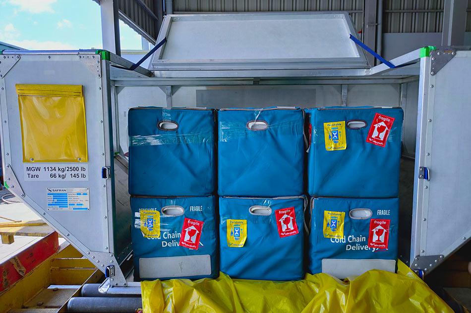 Cebu Pacific transports more COVID-19 vaccines to Zamboanga, Tuguegarao 1