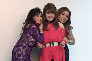 Jukebox queens Eva Eugenio, Imelda Papin mourn passing of good friend Claire dela Fuente