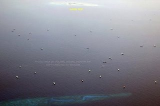 At least 240 Chinese ships swarming in Philippines' EEZ: NTF-WPS