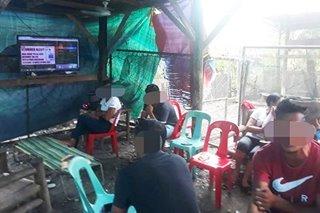 4 timbog sa online sabong sa Davao del Sur