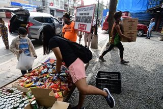 WATCH: Maginhawa community pantry organizer gives tour on day of reopening