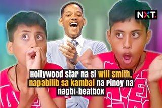 Hollywood star na si Will Smith, napabilib sa kambal na Pinoy na nagbi-beatbox