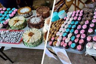 Community pantry na may alok na 1,000 cake, pastries dinagsa sa Quezon