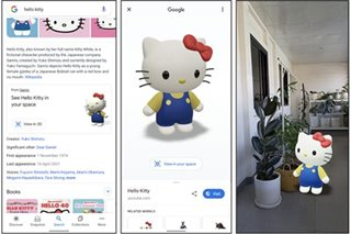 Google brings Hello Kitty, other Japanese characters to life through augmented reality