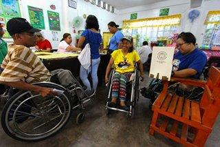 House panel OKs early voting for seniors, PWDs