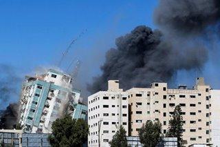 Gaza AP, Al Jazeera offices hit in Israeli air strikes
