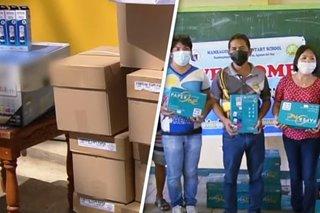 81 paaralan nahatiran ng tulong ng BMPM, TeleRadyo