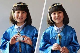 'Time flies so fast': Scarlet Snow Belo finishes kindergarten
