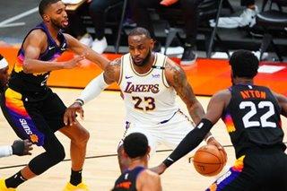 NBA: Lakers shrug off loss vs Suns, target equalizer on road