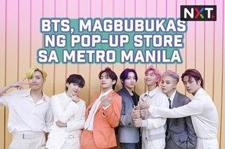BTS, magbubukas ng pop-up store sa Metro Manila