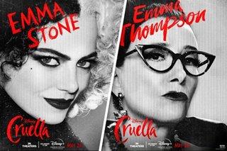 'Cruella' pits Stone vs. Thompson in punk Disney fashion duel