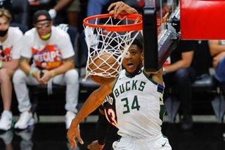 NBA: Antetokounmpo guides Bucks to sweep of Butler, Heat