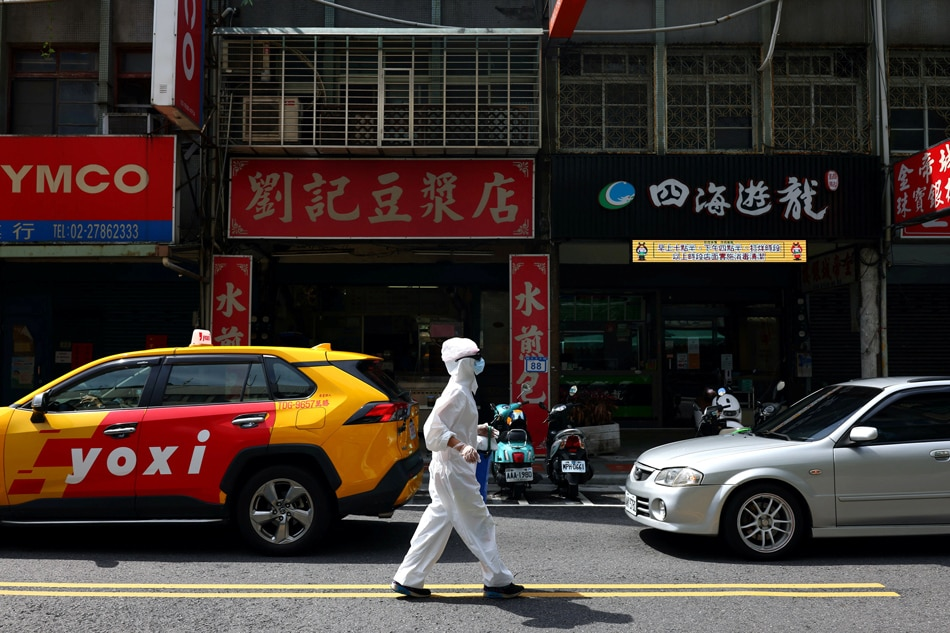 As COVID-19 cases edge up, Taiwan unveils mass vaccination plan 1