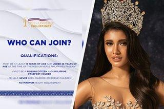 Height requirement sa Miss Universe PH tanggal na