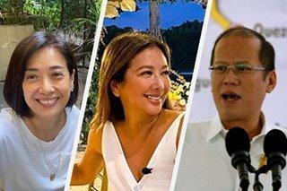 Bernadette Sembrano, Korina Sanchez remember PNoy