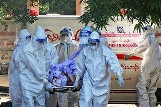 Myanmar faces oxygen shortage as new virus cases top 7,000