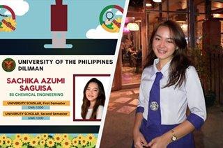 VIRAL: UP chemical engineering student, 'flat uno' sa unang taon sa kolehiyo