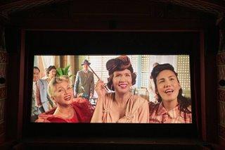 LOOK: Test screening held at newly restored Metropolitan Theater