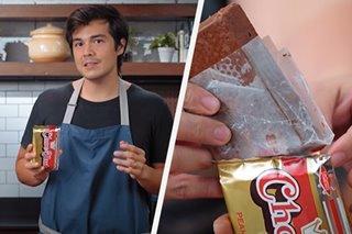 WATCH: Erwan Heussaff attempts to recreate giant Chocnut in 'Trese'