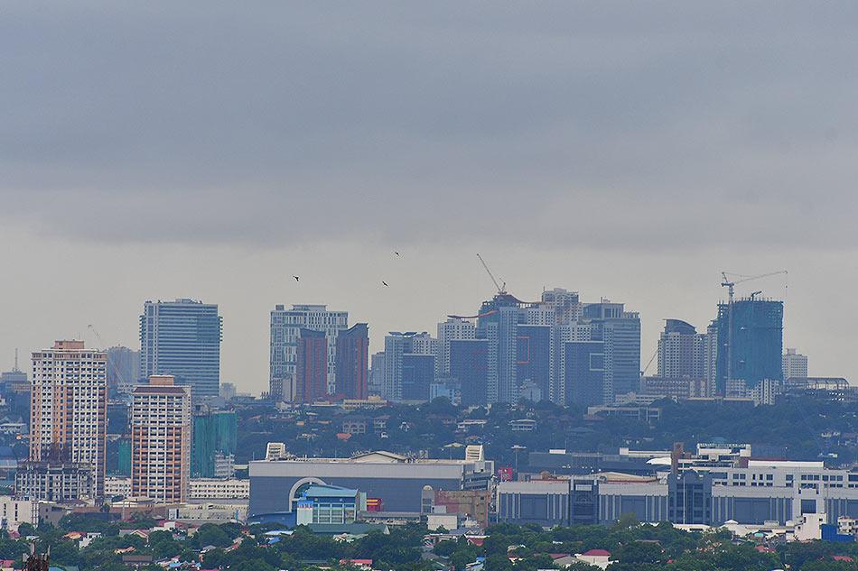 Metro Manila as seen from Antipolo, Rizal on July 29, 2021. Mark Demayo, ABS-CBN News