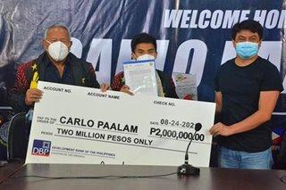 Paalam nakatanggap ng P2 million mula Cagayan de Oro City