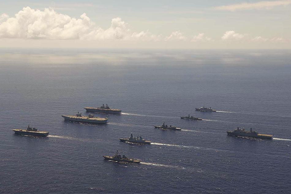 Photo from UK Royal Navy