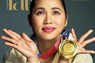 LOOK: Hidilyn Diaz is Tatler PH's latest cover girl
