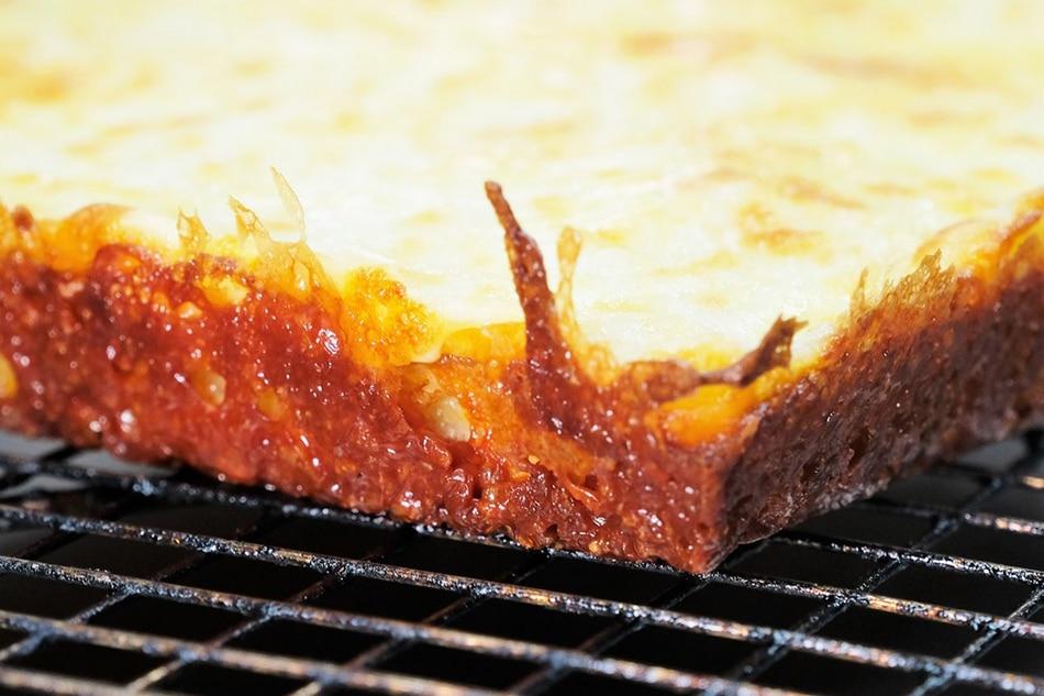 Cheese crisp-like edges are a hallmark of Detroit pizza. Jeeves de Veyra