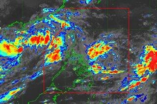 LPA off Bicol now tropical depression 'Maring'