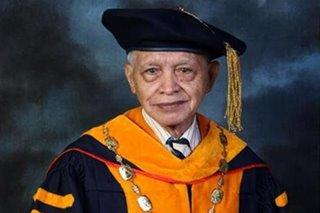National Scientist Ramon Barba passes away
