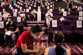 Taguig turns cinemas into vaccination sites
