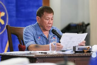 Duterte lets 5 franchise bills lapse into law
